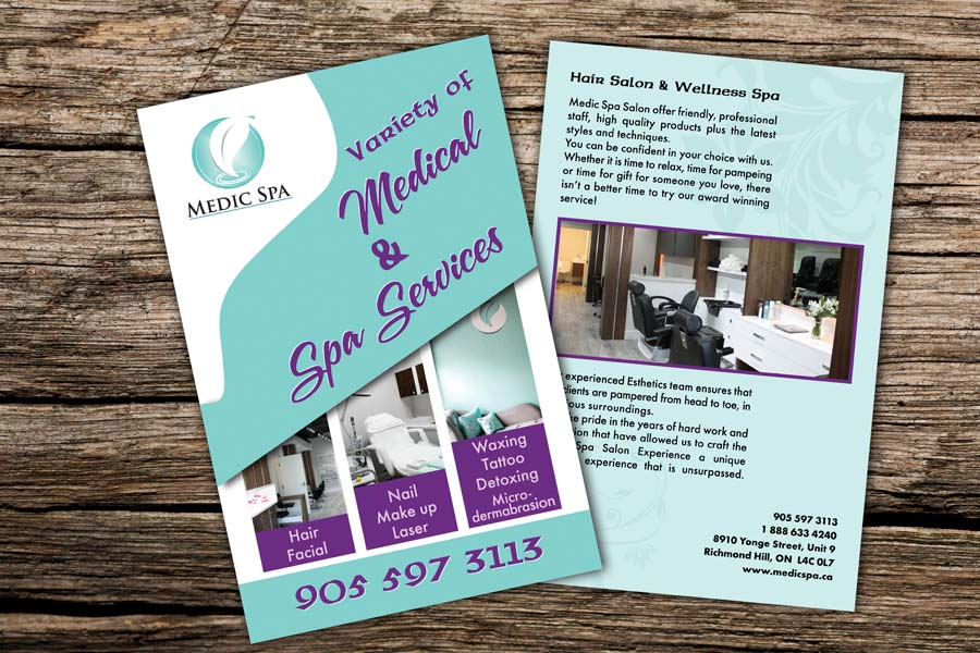 graphic-plus-media-medic-spa-flyer